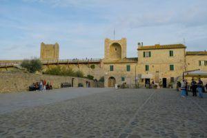 Monteriggioni, qué ver en la Toscana, Italia