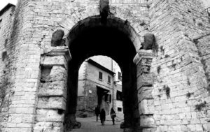 Porta all´arco, Volterra