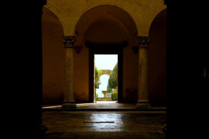 Interior del Palazzo Piccolomini, qué ver en Pienza