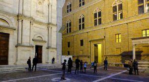 Piazza Pío II, Pienza