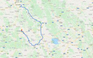 Cómo llegar a PIenza desde Siena y Florencia
