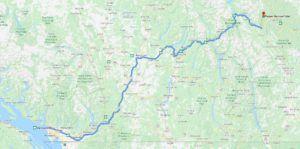 Cómo llegar a Yoho National Park desde Vancouver