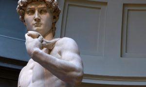 El verdadero David de Miguel Ángel