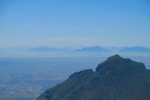 Desde la cima de la Table Mountain