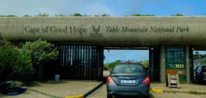 Entrada al Parque Nacional del Cabo de Buena Esperanza
