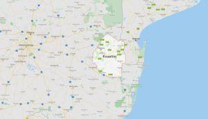 Situación de Suazilandia (Esuatini)