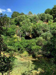 Precioso paisaje en el Nacimiento del Río Cuervo
