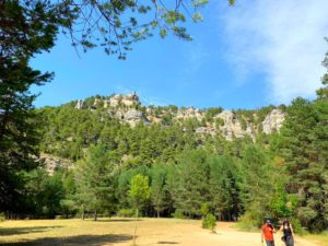 Pasear por el Parque Natural de la Serranía de Cuenca es maravilloso