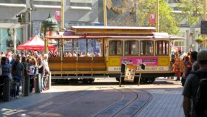 Cable Car de Union Square, el centro de San Francisco