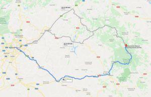 Cómo llegar al nacimiento del Río Cuervo desde Madrid