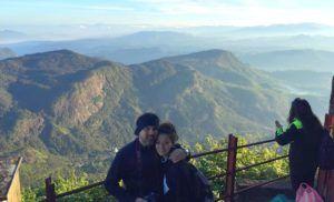 Adam´s peak, subiendo al Pico de Adam
