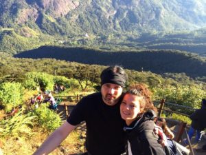 Airenomada en el Adam´s Peak, Sri Lanka