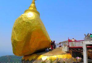 Roca Dorada, Myanmar