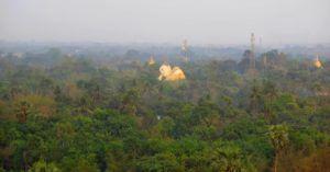 Vistas desde Mahazedi Paya, Bago