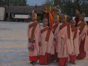 Monasterio Kya Kha Wain Kyaung. Myanmar