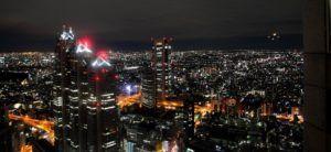 La inmensidad de la ciudad de Tokio desde el mirador del Metropolitan Government Building