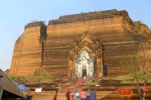 Mingun Paya, el templo inacabado