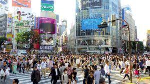 El paso de peatones de Shibuya