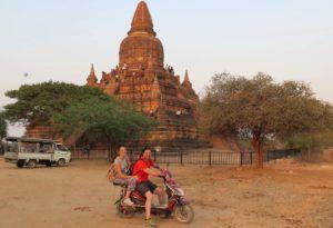 Nómadas en Bagan, Myanmar