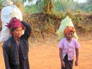 De Kalaw al Lago Inle, Myanmar