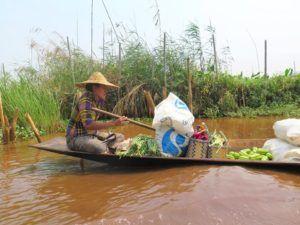 El lago Inle, Myanmar