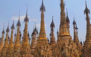 Kakku, el bosque de pagodas