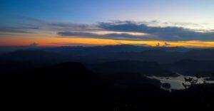 Increíbles vistas en la subida al Adam´s Peak de Sri Lanka