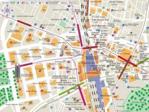 Mapa del Barrio de Shinjuku, Tokyo