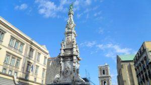 El Obelisco de la Inmaculada, qué ver en Nápoles