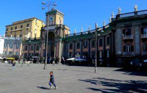 Piazza Dante, Nápoles, Italia