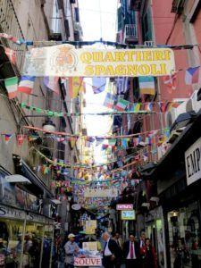 Qué ver en Nápoles. Quartieri Spagnoli.