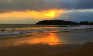 La playa de Mirissa, Sri Lanka