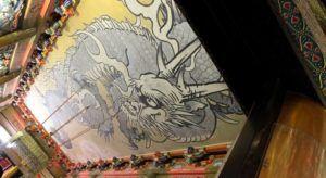Interior del Santuario Tashogu
