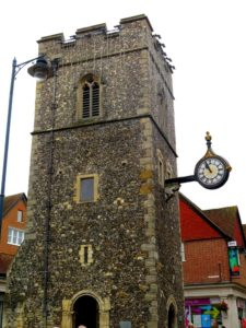 Sant George´s Tower, Canterbury