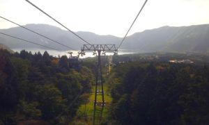 Teleférico en Hakone