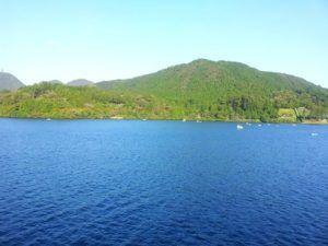Lago Ashi, Hakone, Japón