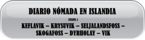 Ruta por Islandia, Etapa 1