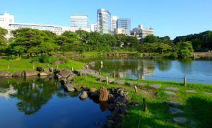 Jardines Hama Rikyu, Tokyo