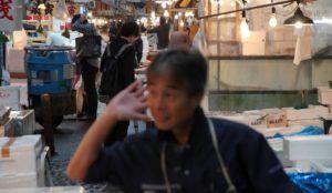 Mercado de Tsukiji, Ginza, Tokio