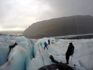GlaciarVatnajökull, en Ruta por Islandia