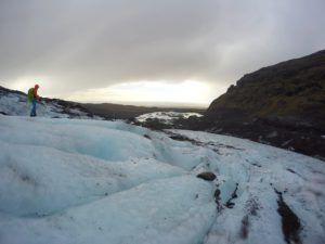 Hacemos trekking por el Glaciar Vatnajökull, Islandia