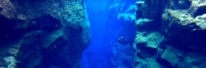 Snorkel en Silfra, Islandia