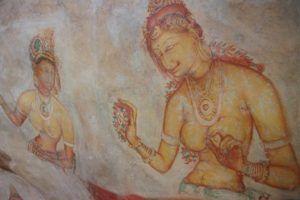 Galería de las Doncellas, Sigiriya, Sri Lanka