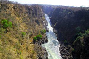 Las Cataratas Victoria desde Zambia