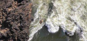 Puenting en las Cataratas Victoria, Zambia