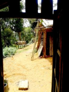 Poblado Khmu, Laos