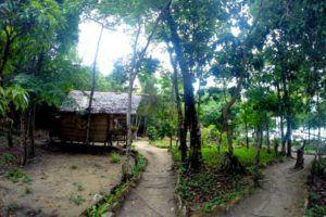 Nuestra cabaña de madera en Koh Rong, Camboya