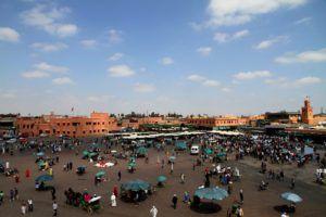 Plaza de Jamaa el Fna de Marrakech