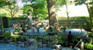 Kamakura esta salpicado de pequeños jardines