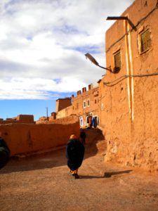 El zoco de Ouarzazate, Marruecos